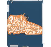 Don't Stop iPad Case/Skin