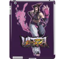 ultra street fighter Juri iPad Case/Skin