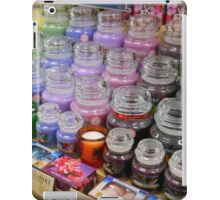 Aromatherapy Unchained - Yankee Candles Shop Display iPad Case/Skin
