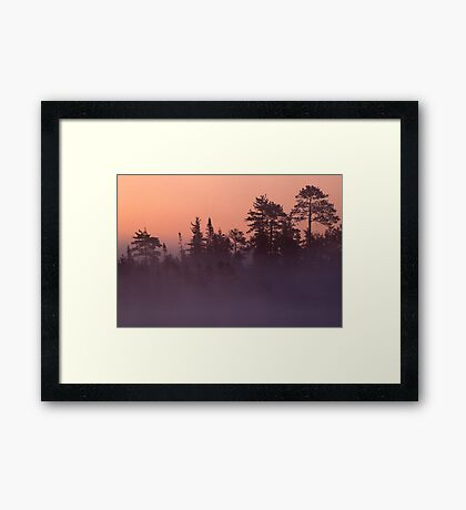Another Michigan Dawn Framed Print