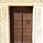 A small door at the Grand Mosque Kairouan Tunisia - The city of 50 Mosques by DeborahDinah