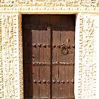 A small door at the Grand Mosque Kairouan Tunisia - The city of 50 Mosques by DeborahDinah