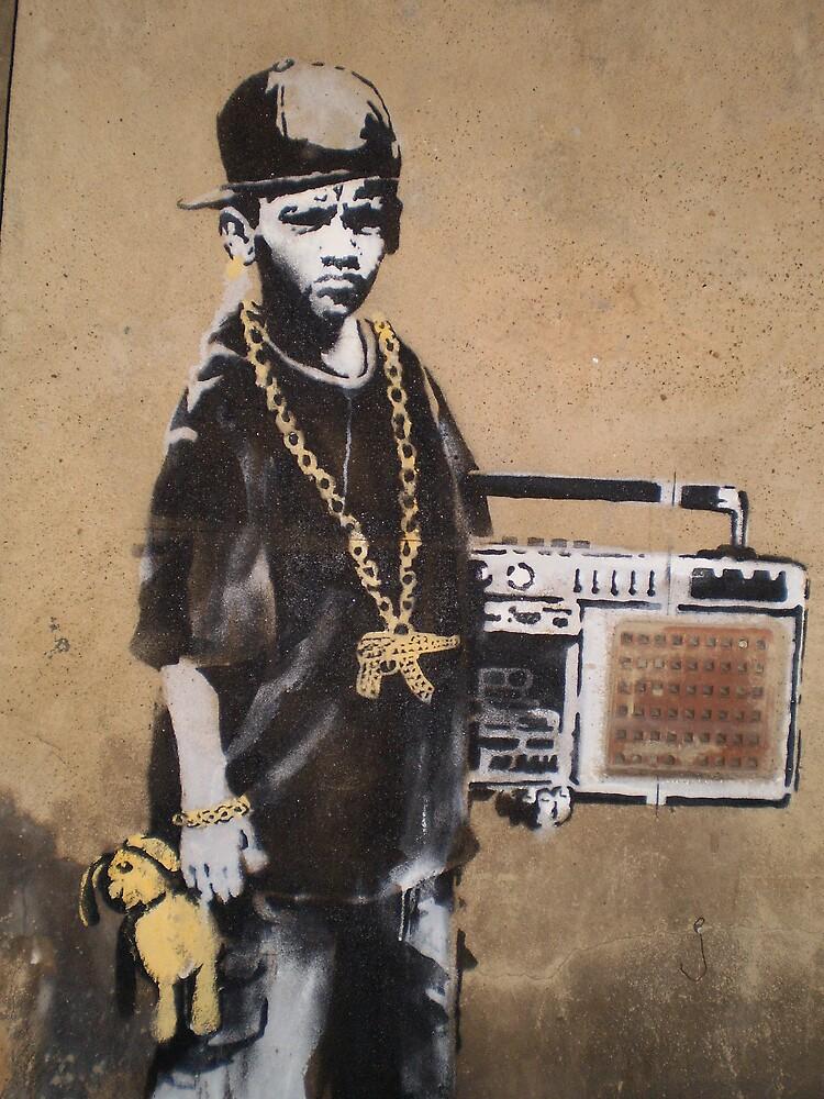Banksy Kid by runjoerun