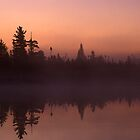 Tanker Lake Dawn by Bill Spengler