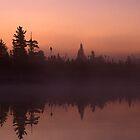 Tanker Lake Dawn by Bill Spengler
