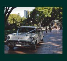 1957 Chevrolet Limousine, Hyde Park, Sydney, Australia 2012 T-Shirt