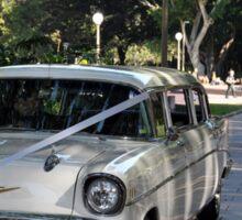 1957 Chevrolet Limousine, Hyde Park, Sydney, Australia 2012 Sticker