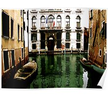 GREEN STREETS OF VENICE Poster