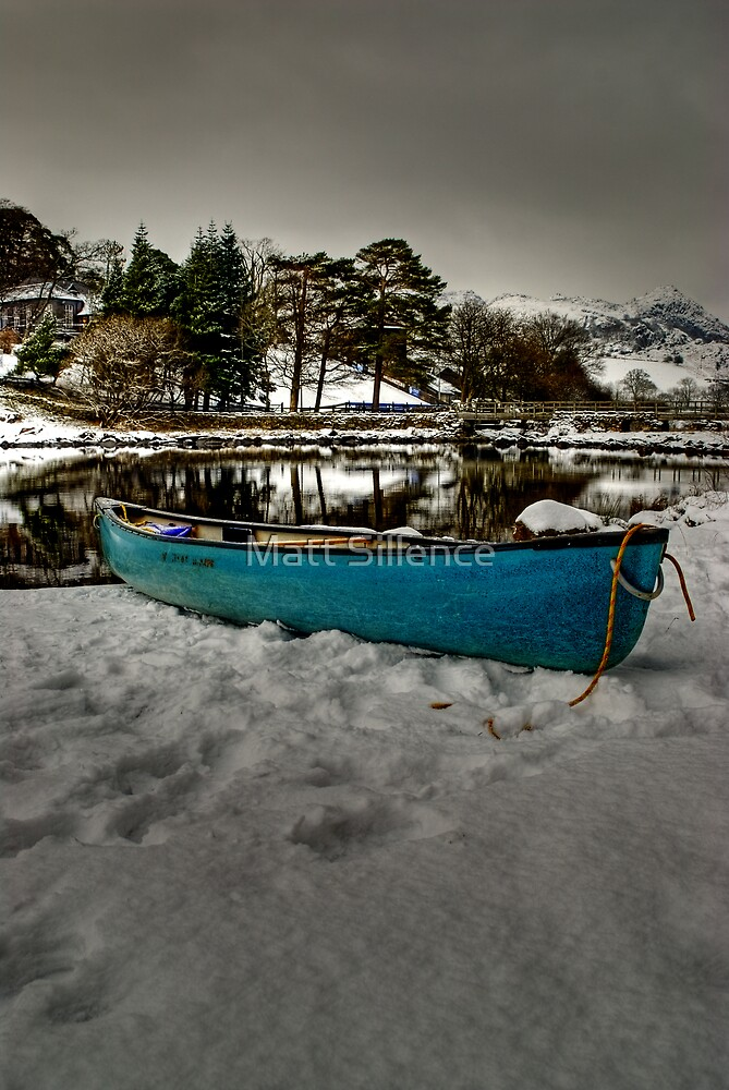 Canoeing in this? no chance by Matt Sillence