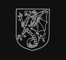 A Complete Guide to Heraldry - Figure 430 — Wyvern erect Unisex T-Shirt