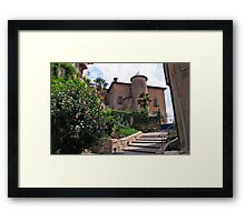 Chateau de Seix Framed Print