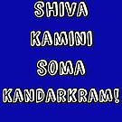 Shiva Blast by iheartgallifrey