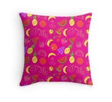 FRUTA (PINK) Throw Pillow