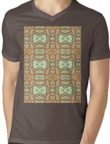 free form terrain Mens V-Neck T-Shirt