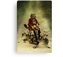 The intriguer Canvas Print