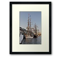 Tall Ships @ Darling Harbour, Sydney, Australia 2013. Framed Print