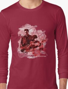 Supernatural Watercolor Long Sleeve T-Shirt