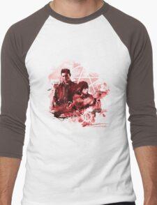Supernatural Watercolor Men's Baseball ¾ T-Shirt