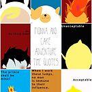 Fionna and Cake Adventure Time Quotes by Patricia Kimmerle