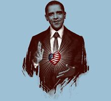 The Sacred Heart of Obama T-Shirt