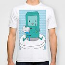 BMO Bathroom Fun Graphic Tee - Adventure Time by Patricia Kimmerle