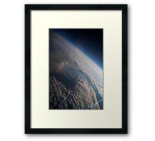 Suborbital Transit Framed Print