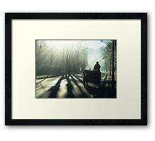 Road Traffic Framed Print