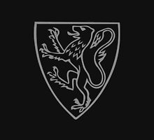 A Complete Guide to Heraldry - Figure 34 — Armorial bearings of Henry de Lacy, Earl of Lincoln (d 1311) Or, a lion rampant purpure (From his seal) Unisex T-Shirt