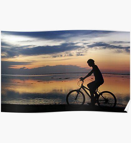 Boy on a Bike Poster