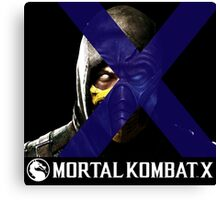 Mortal Kombat Merge Canvas Print