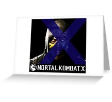 Mortal Kombat Merge Greeting Card