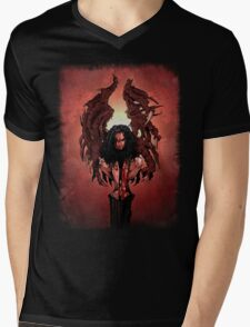 Abomination of the Earth Mens V-Neck T-Shirt