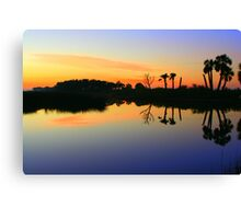 Another Beautiful Sunrise In Florida Canvas Print