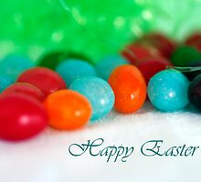 Jelly Bean Greeting ~ Happy Easter by DiEtte Henderson