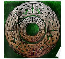 Stone Celtic Knbot Circle Poster