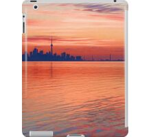 Brilliant Colorful Morning - Toronto Skyline Impressions iPad Case/Skin