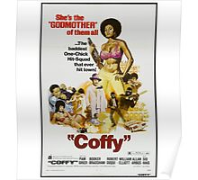 Coffy (Brown) Poster