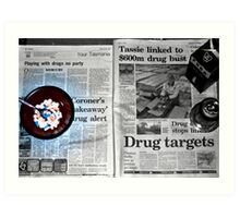 drugs drugs drugs Art Print