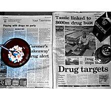drugs drugs drugs Photographic Print