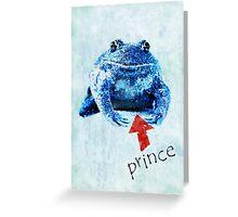 prince Greeting Card