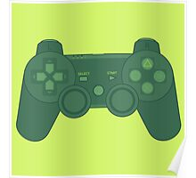 Playstation Controller Poster
