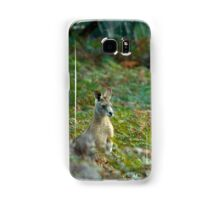 Kangaroo in the Ferns A Samsung Galaxy Case/Skin