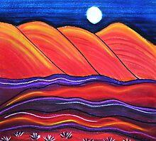 Perfect Pastels - Flinders Moon by Georgie Sharp