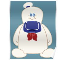 Stay Puft Chibi Poster