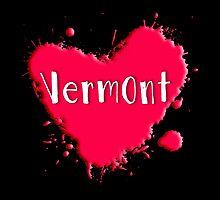 Vermont Splash Heart Vermont by Greenbaby