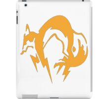 Metal Gear Fox Unit Art iPad Case/Skin