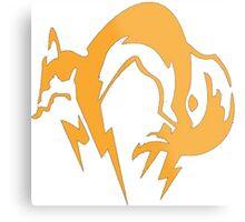Metal Gear Fox Unit Art Metal Print