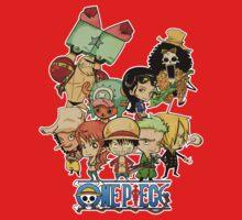 One Piece Straw Hat Pirates Kids Clothes