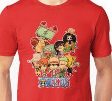 One Piece Straw Hat Pirates Unisex T-Shirt
