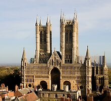 Lincoln Cathedral by Artur Bogacki